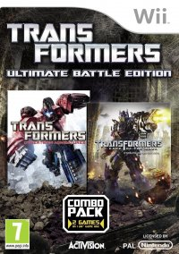 Обложка Transformers: Ultimate Battle Edition