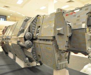 Фанат Halo построил из LEGO космический корабль