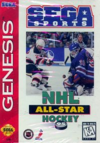 Обложка NHL All-Star Hockey '95