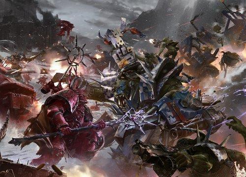 Самые крутые комиксы по Warhammer 40.000