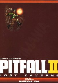 Обложка Pitfall II Lost Caverns