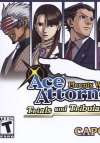 Обложка Phoenix Wright: Ace Attorney - Trials and Tribulations