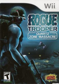 Обложка Rogue Trooper: Quartz Zone Massacre