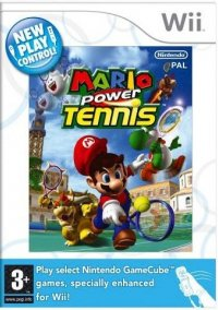 New Play Control!: Mario Power Tennis – фото обложки игры