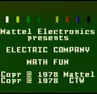 Обложка The Electric Company: Math Fun