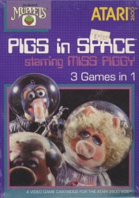 Обложка Pigs in Space