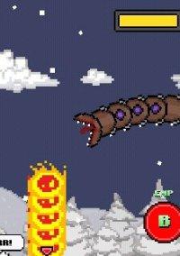 Обложка Super Mega Worm Vs. Santa