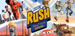 Kinect Rush: A Disney-Pixar Adventure. Видео #1