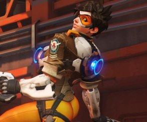 Blizzard заменила позу Трейсер еще более вызывающей