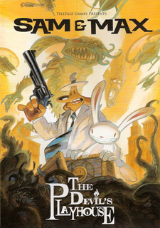 Sam & Max: The Devil's Playhouse Episode 3: They Stole Max's Brain!