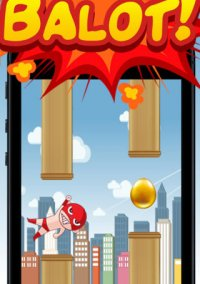 Balot King - the adventure of flying tiny red egg man – фото обложки игры