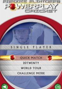 Обложка Freddie Flintoff's Power Play Cricket