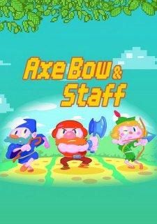 Axe, Bow & Staff