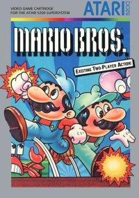 Обложка Mario Bros.