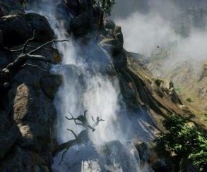 Снимок из новой Dragon Age запечатлел водопад