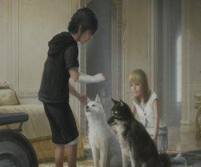 «Следуй за белым песиком, Ноктис»: новый трейлер Final Fantasy XV