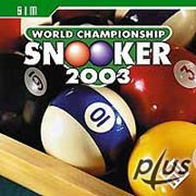 Обложка World Championship Snooker 2003