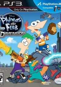 Обложка Phineas and Ferb: Across the 2nd Dimension