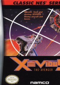 Обложка Classic NES Series: Xevious