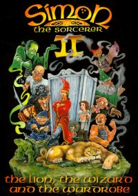 Обложка Simon the Sorcerer 2: The Lion, the Wizard and the Wardrobe