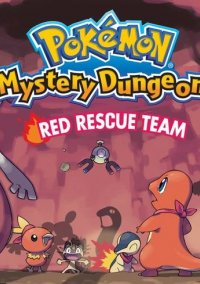 Обложка Pokémon Mystery Dungeon: Red Rescue Team