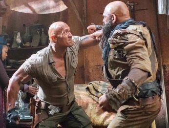 Дуэйн Джонсон показал шикарную драку на съемках «Джуманджи»
