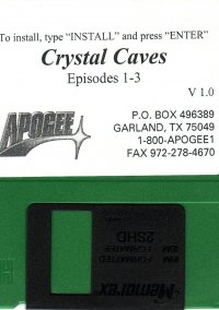Обложка Crystal Caves Volume 2: Slugging it out