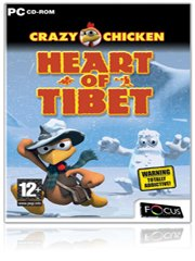 Обложка Crazy Chicken: Heart of Tibet