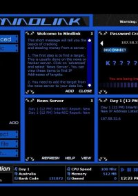 Обложка Mindlink Hacker 2003