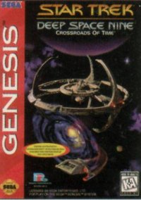 Star Trek - Deep Space 9 - Crossroads of Time – фото обложки игры