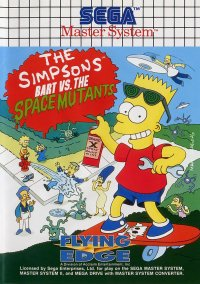 Обложка The Simpsons: Bart vs. the Space Mutants