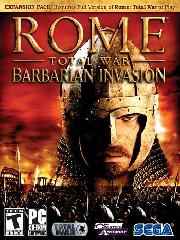Обложка Rome: Total War - Barbarian Invasion