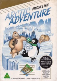 Обложка Arctic Adventure: Penguin & Seal