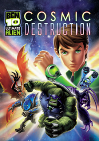 Обложка Ben 10 Ultimate Alien: Cosmic Destruction