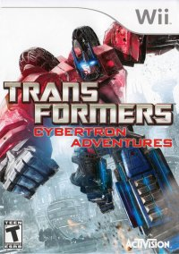 Обложка Transformers: Cybertron Adventures
