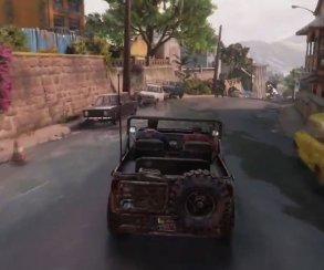 Uncharted 4: A Thief's End: Дрейк теперь еще и гонщик?!