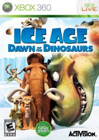 Обложка Ice Age: Dawn of the Dinosaurs