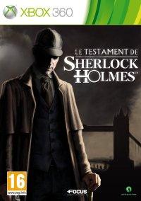 Обложка Le Testament de Sherlock Holmes