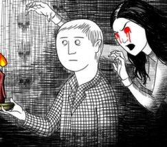 Черно-белый хоррор Neverending Nightmares выйдет на PlayStation 4
