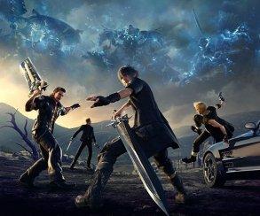40 минут геймплея Final Fantasy 15: чем заняться вчетвером на обочине