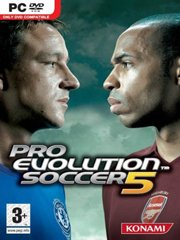 Обложка Pro Evolution Soccer 5