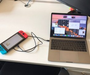 Nintendo Switch все-таки можно зарядить от нового MacBook Pro