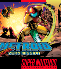 Обложка Metroid Super Zero Mission
