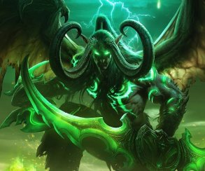 Графика World of Warcraft Legion и просто WoW: небо и земля