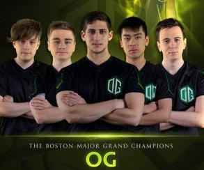 Команда OG одержала победу в финале Boston Major по Dota 2