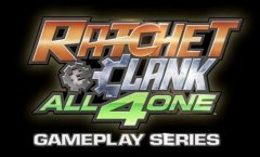 Ratchet and Clank: All 4 One. Геймплей