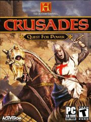 The History Channel: Crusades Quest for Power – фото обложки игры