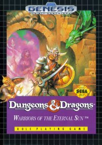 Обложка Dungeons & Dragons: Warriors of the Eternal Sun