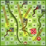 Скриншот Snake and Ladder