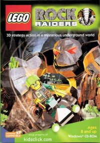 Обложка LEGO Rock Raiders
